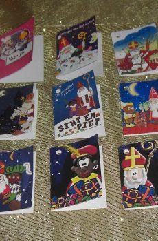 Cadeaukaartjes Sinterklaas en kerst